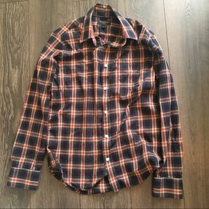 Banana republic plaid flannel
